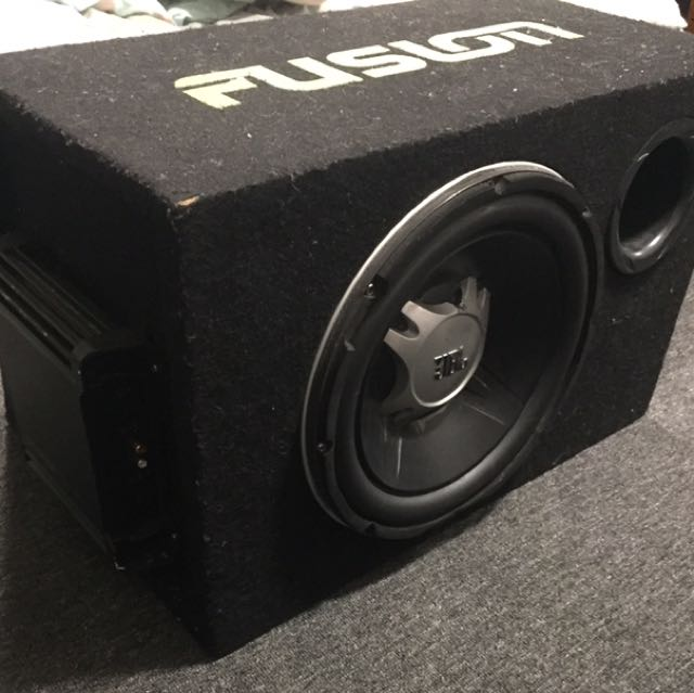 Just Subwoofer With Built in Amp