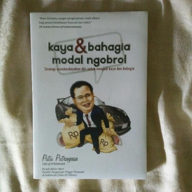 Kaya & Bahagia Modal Ngobrol - Putu Putrayasa
