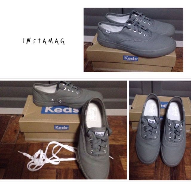 Keds Triumph Pewter Gray
