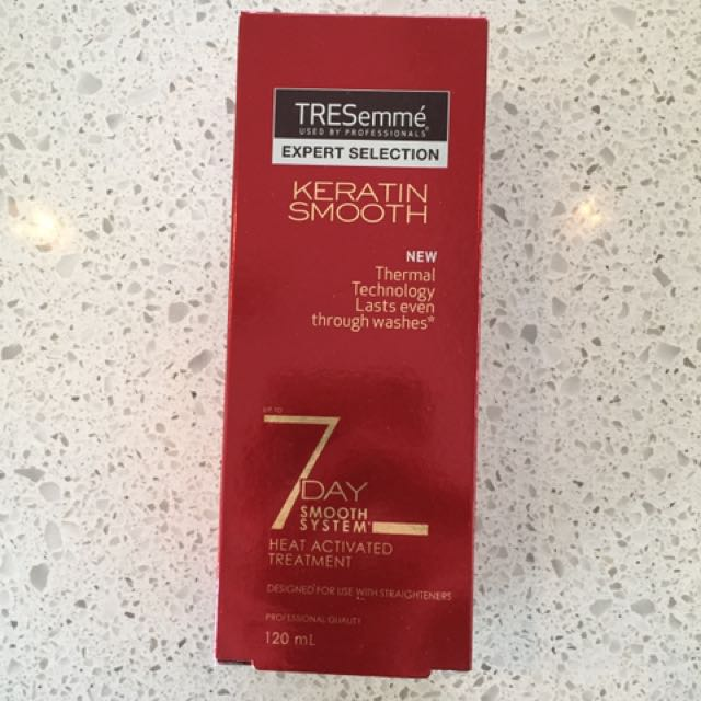 Keratin Smooth Heat Activated Treatment - TRESemme