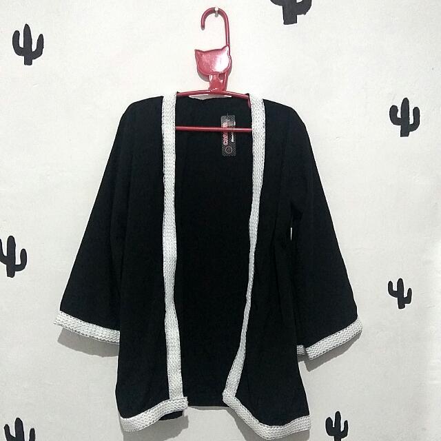 SALE Kimono Outer - Black