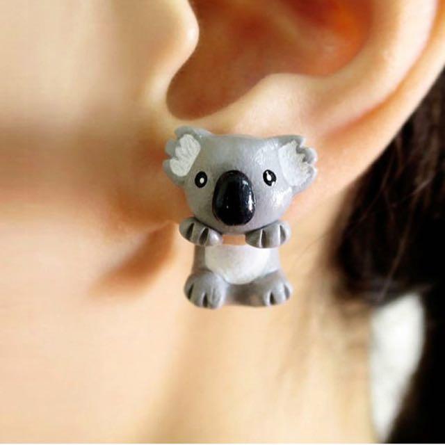 Koala Earring