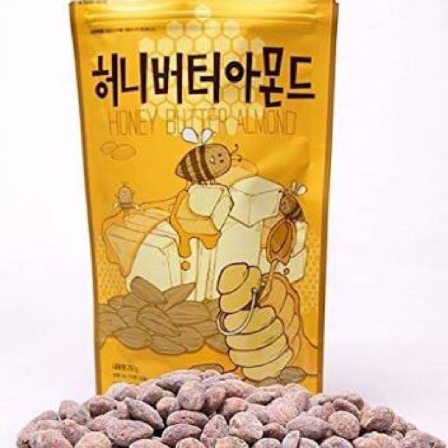 Korean Honey Almond Butter
