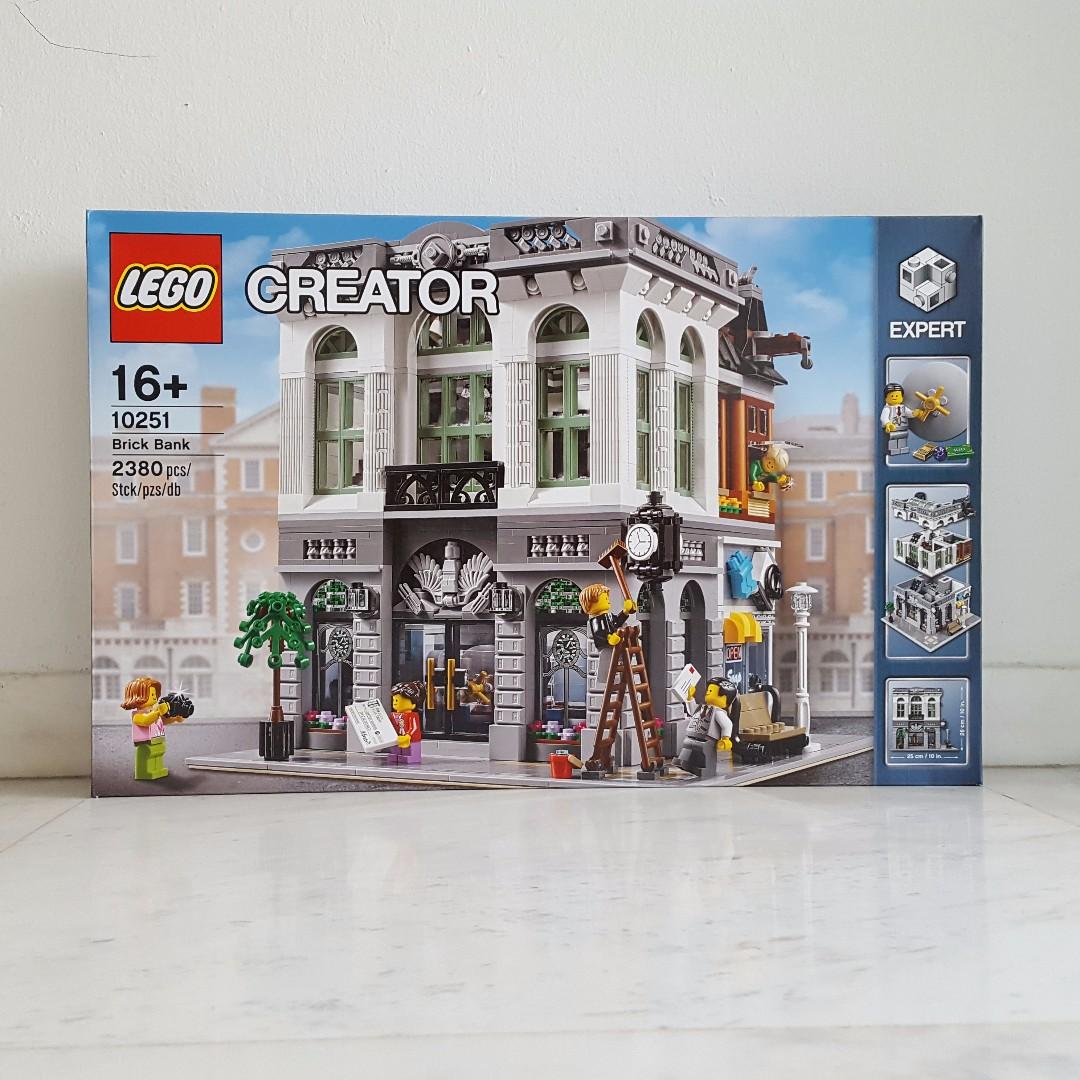 Lego 10251 Creator Brick Bank, Toys & Games, Bricks