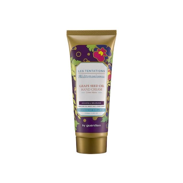 Les Tentations Meditteraneennes Grape Seed Oil Hand Cream 65ml