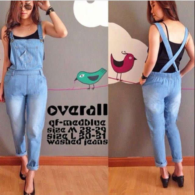 Long Overall Jeans