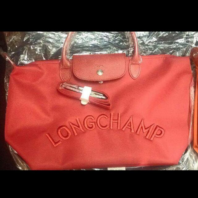 AUTHENTIC LONGCHAMP NEO EMBOSSED