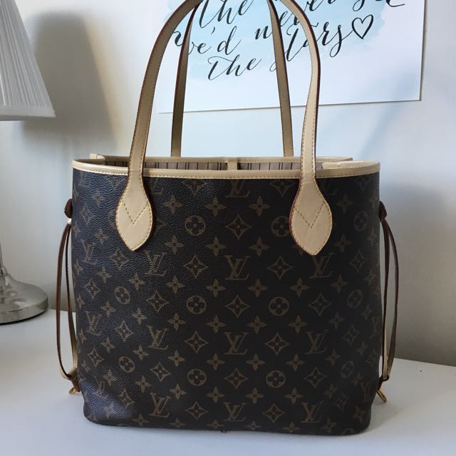 Louis Vuitton Neverfull High Quality Leather Replica