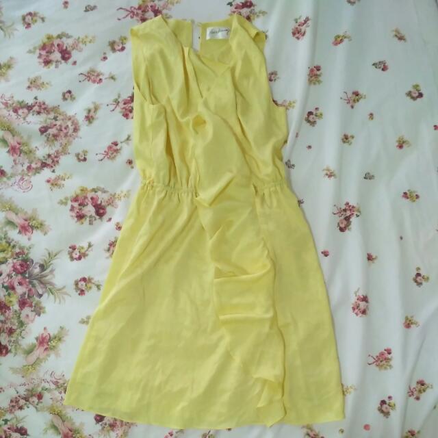 Love Bravery Yellow Dress