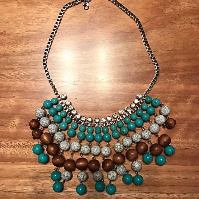 Lovisa Bead & Diamond Necklace