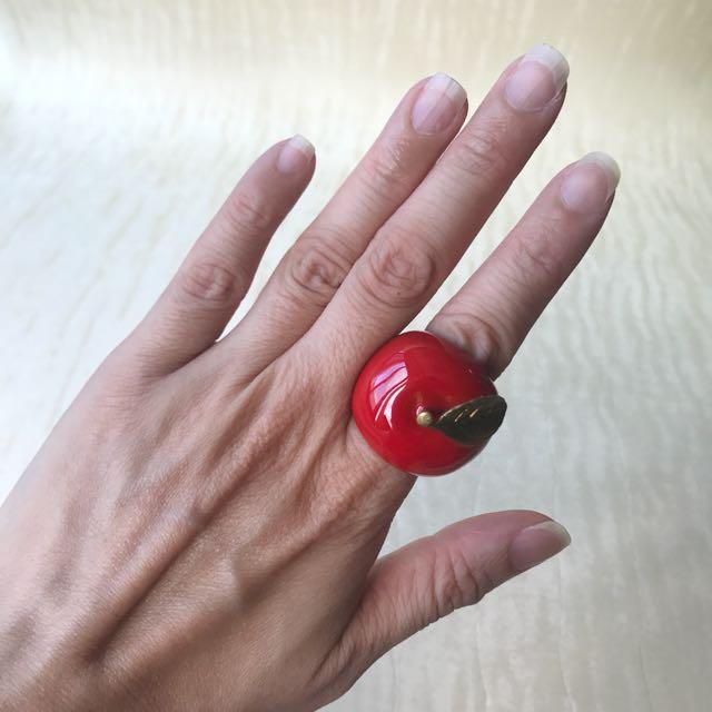 泰國MAFIA 童趣紅蘋果戒指
