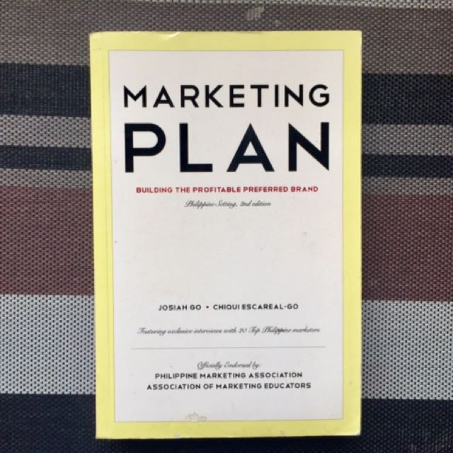 Marketing Plan (Josiah Go)