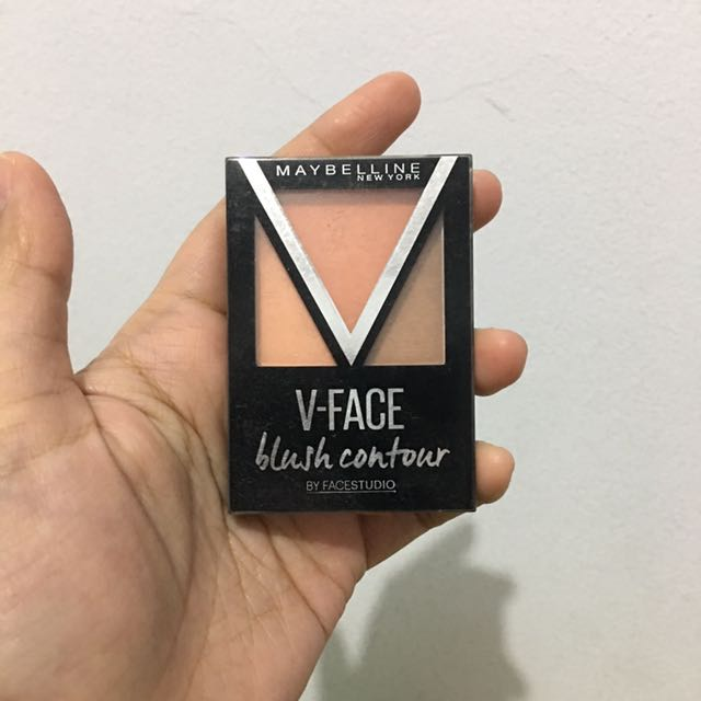 Maybellin V-face Blush Contour Preloved Agak Defect Dikit