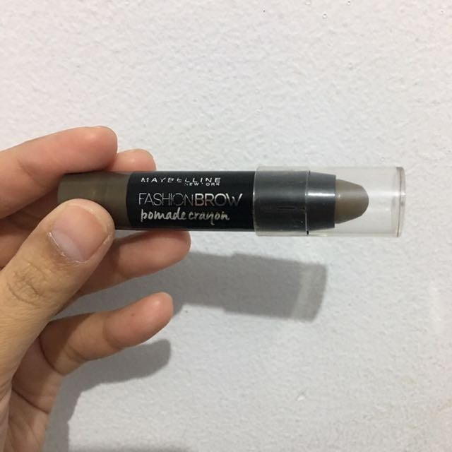 Maybelline Fashion Brow Pomade Crayon Preloved. Sangat Ok