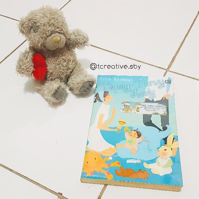 Novel Metropop: Topsy-Turvy Lady (Tria Barmawi)