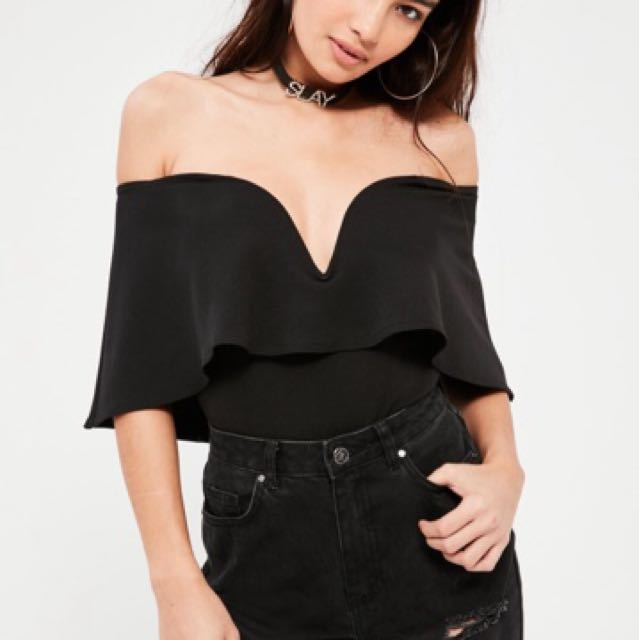 MISSGUIDED BODYSUIT - SIZE 8