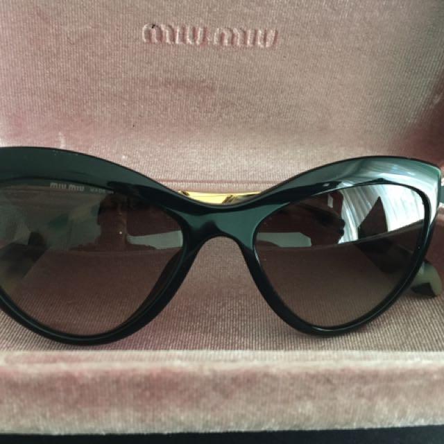Miu Miu Cat Eye Sunglasses SMU 080