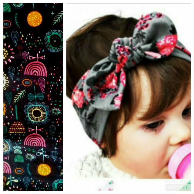 MTO Headwrap/Headband For Baby And Mommy