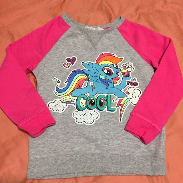 1fb4f39dfc53 My little pony long-sleeved shirt, Babies & Kids, Girls' Apparel on ...