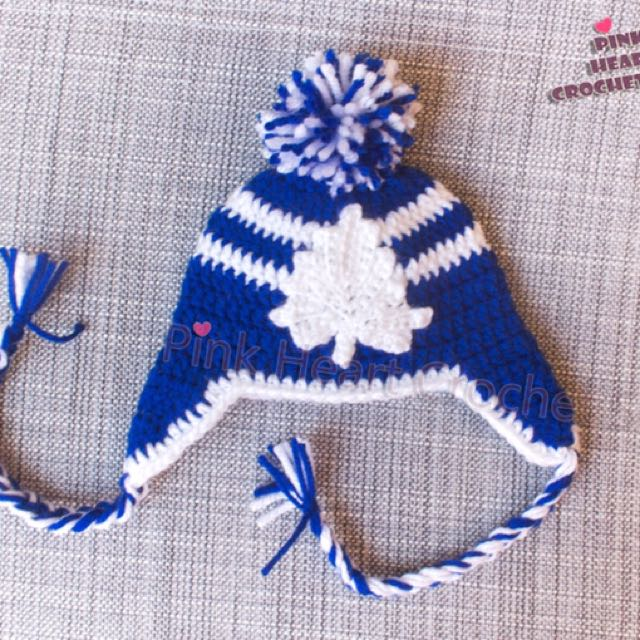 New Toronto Maple Leafs Hat And Booties