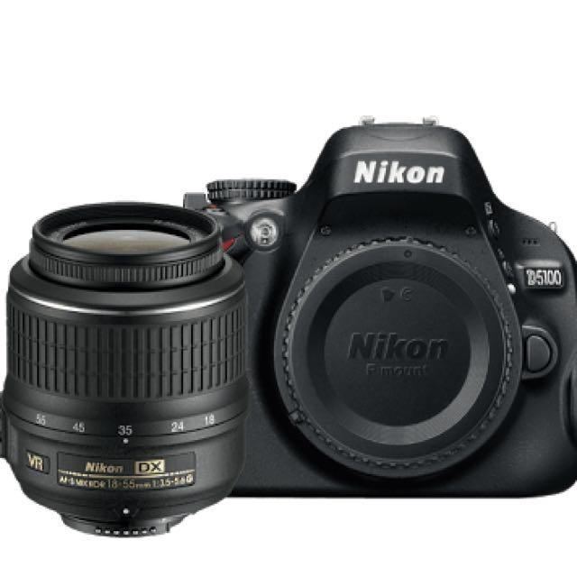 Kamera DSLR Nikon D5100