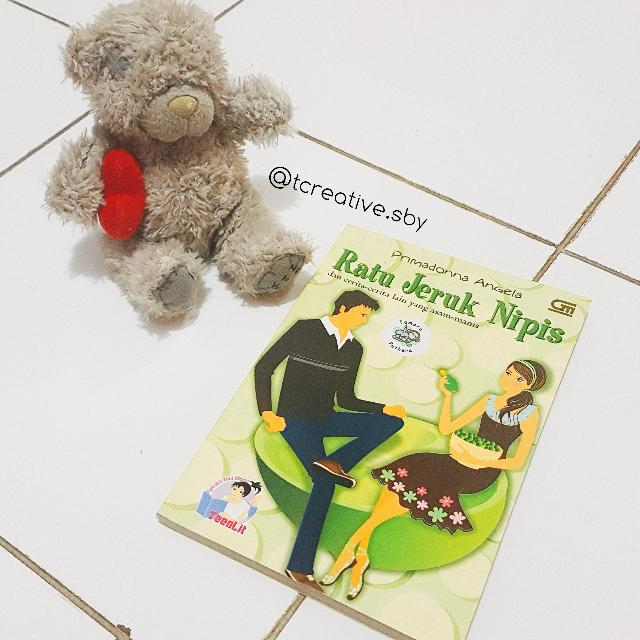 Novel Teenlit: Raru Jeruk Nipis dan cerita-cerita lain yang asam manis (Primadonna Angela)