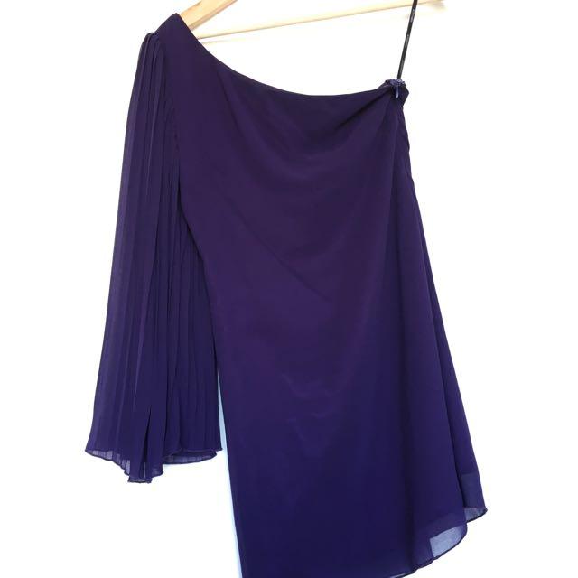 One Shoulder Dress - S