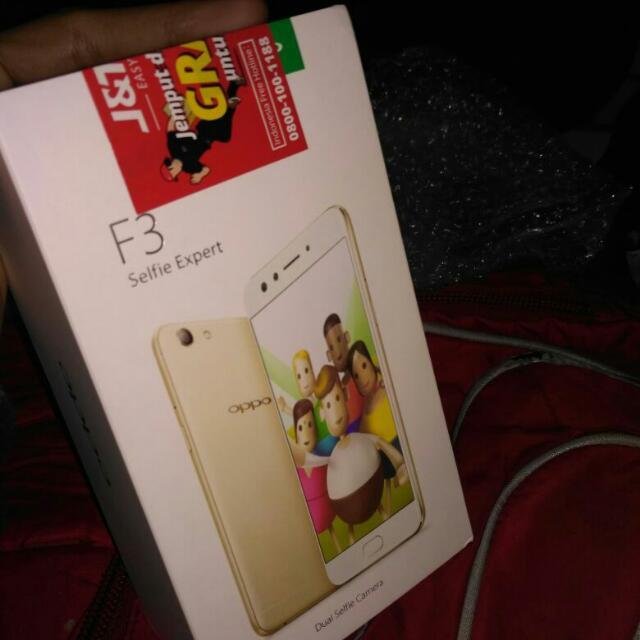 Oppo F3 Ram 4GB/64GB Selfie Expert Garansi Resmi