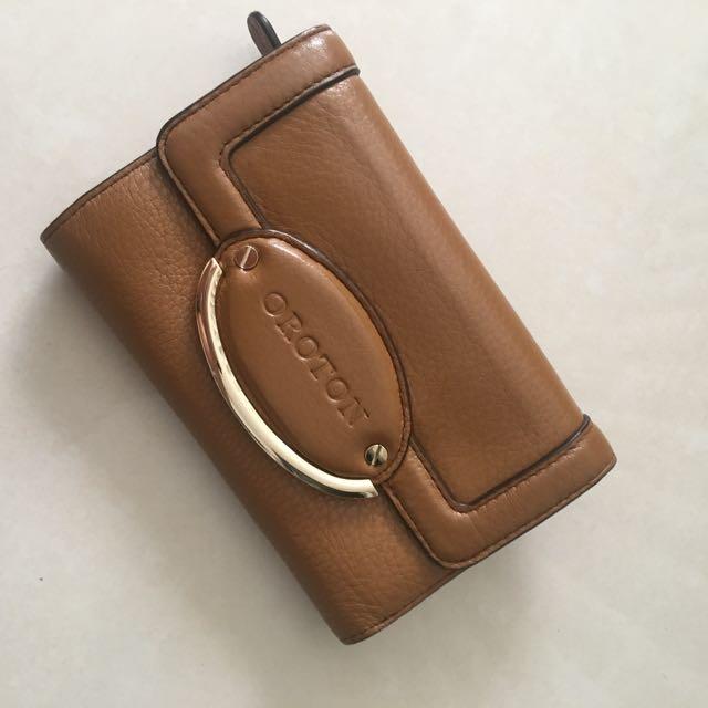 Oroton Tan Wallet