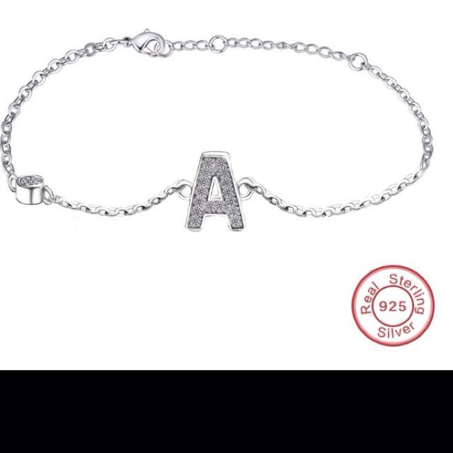 Personalised Letter Bracelet