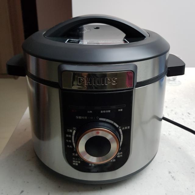 philips智慧萬用鍋,壓力鍋,悶燒鍋,電子鍋