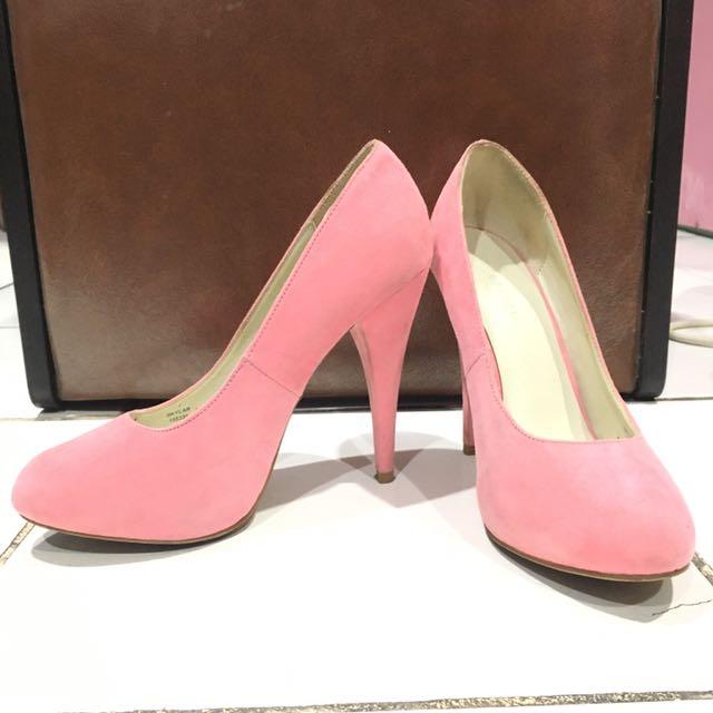 Pink Platform Heels 11cm