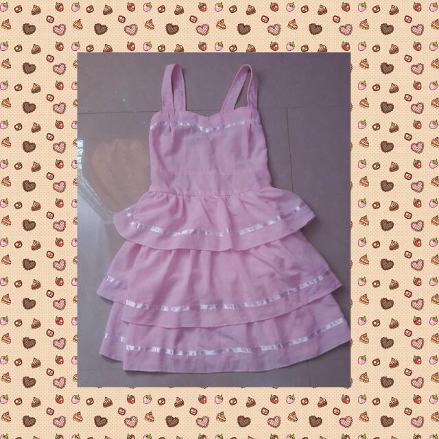 Pink Tumblr Dress