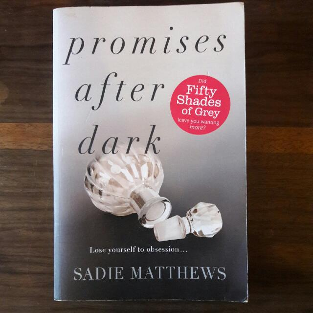 Preloved Promises After Dark 2 2 Books Stationery Books On