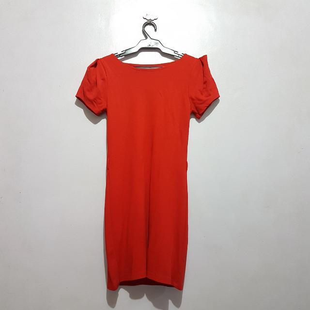 Preloved Red Dress
