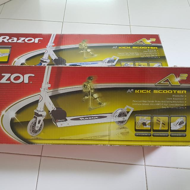 Razor A2 Kick Scooter For Sale Brand New In Box Bicycles PMDs