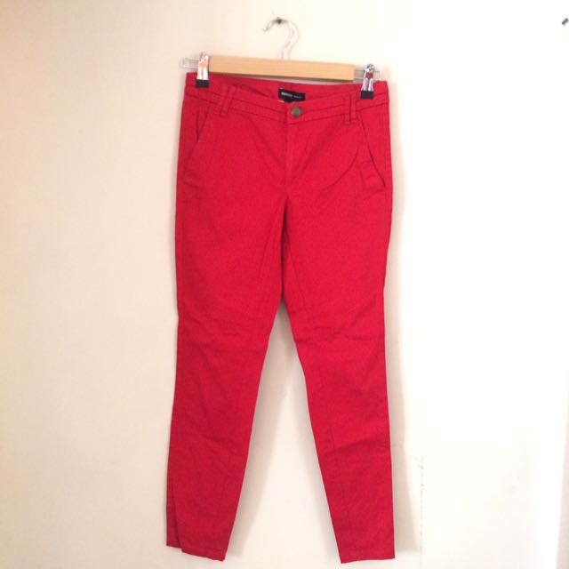 Red Mng Pants