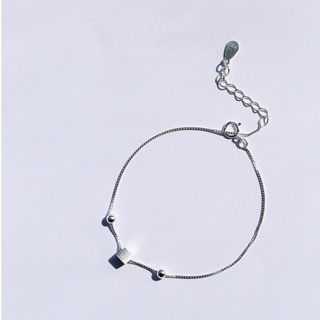 Sliver thin bracelet chain