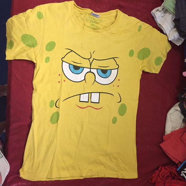 spongebob tshirt