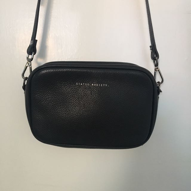 Status Anxiety Cross Body Leather Bag