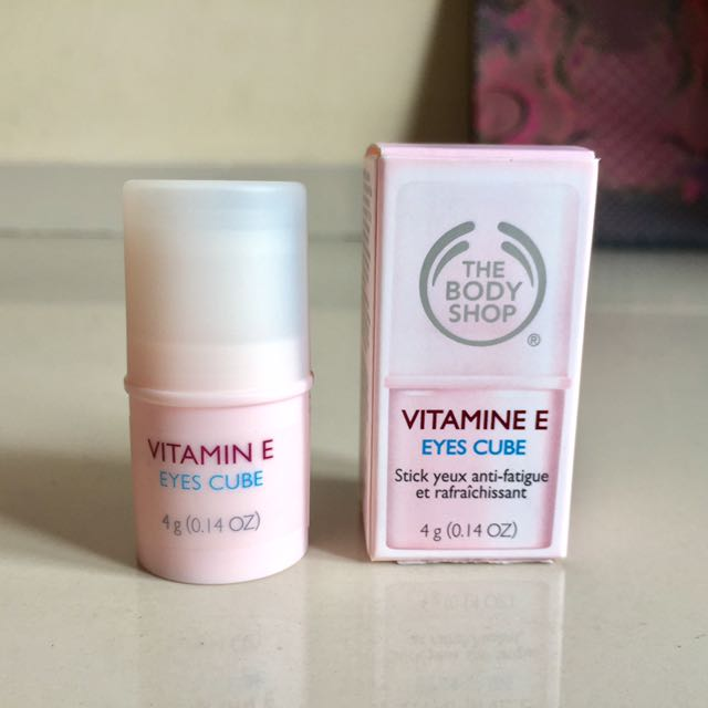 The Body Shop Vitamine E Eyes Cube, Kesehatan & Kecantikan, Kulit, Sabun &