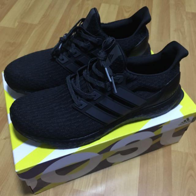 buy popular 92258 c4fc7 Ultraboost Adidas Triple Black 3.0 BA8920