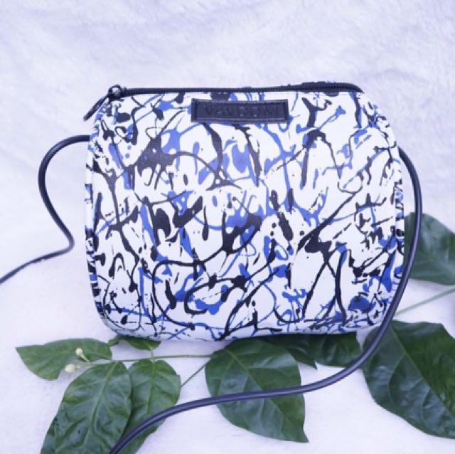 Vavoom slingbag bulat tas wanita selempang (ada tali panjang)