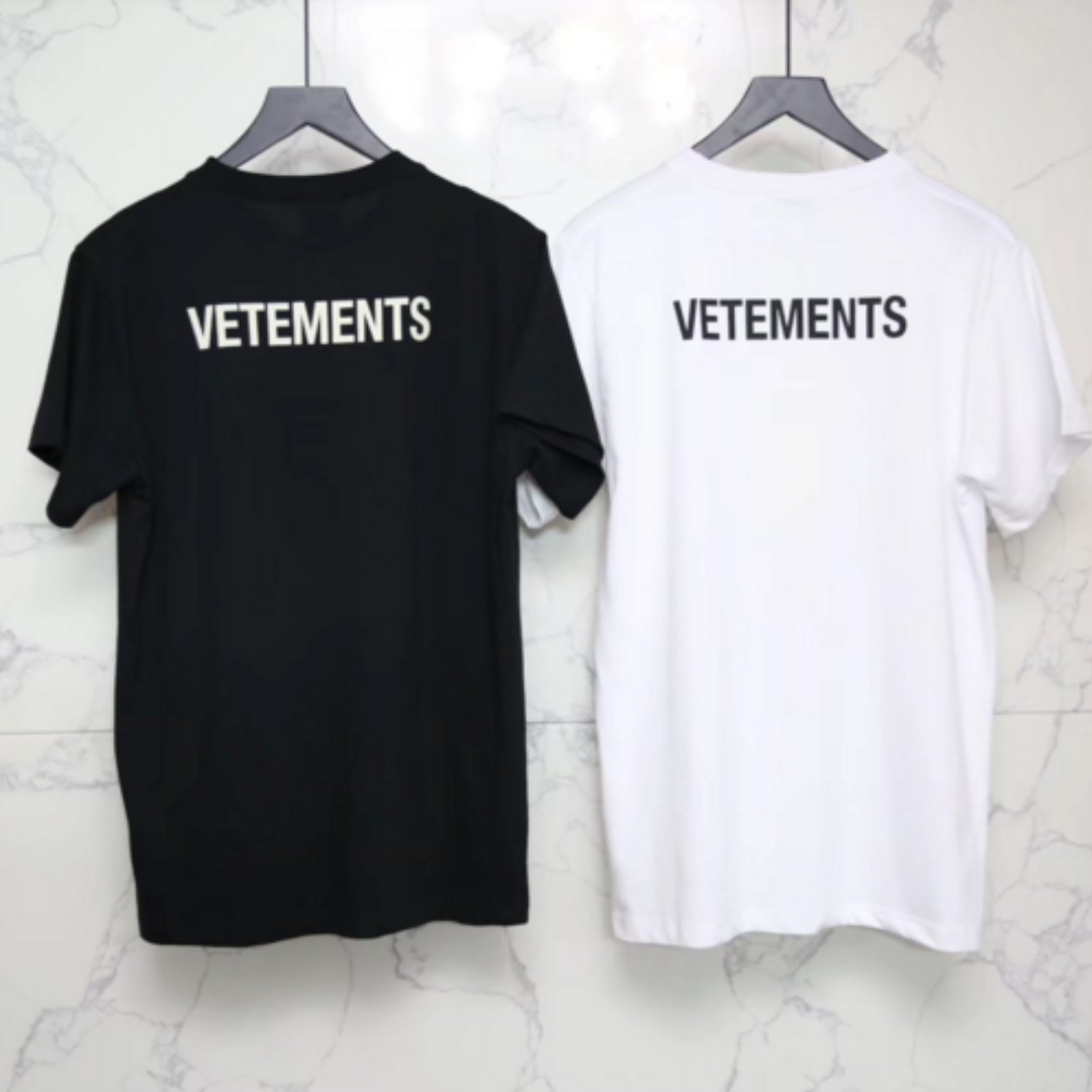 acbc0c10423e Vetement Staff Uniform Tee, Men's Fashion, Clothes on Carousell