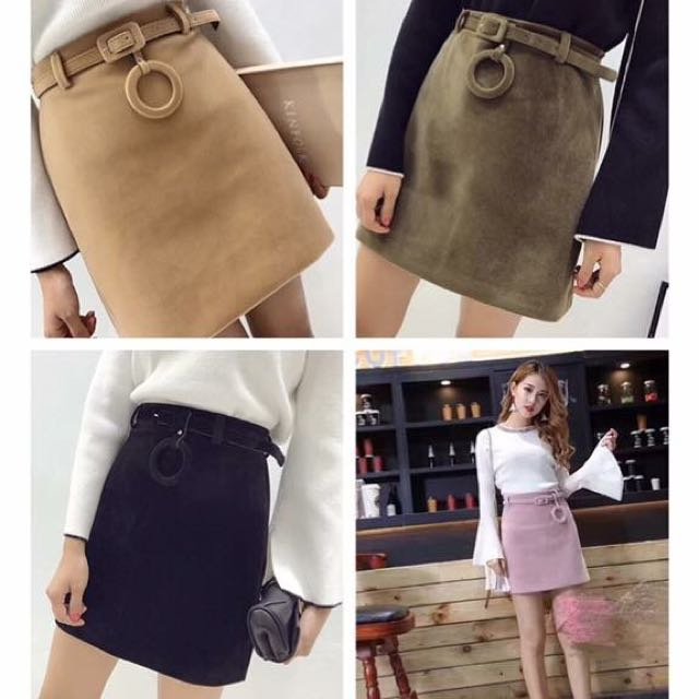 Wooly Wrap Skirt