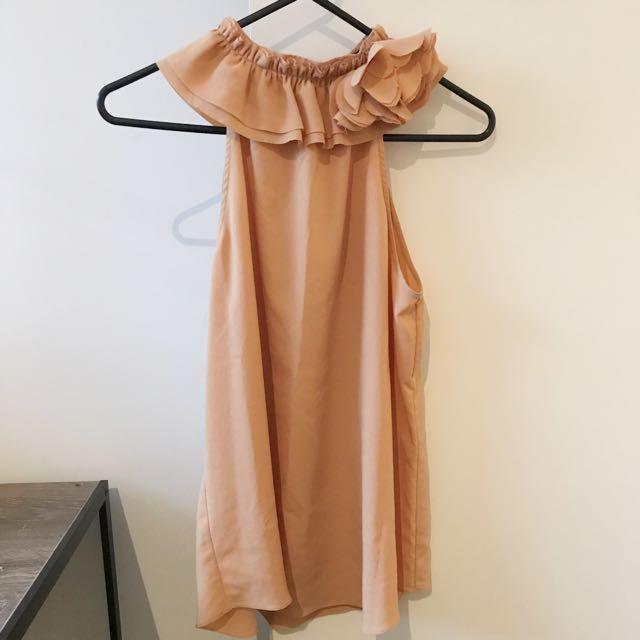 Zara Top (Orange)