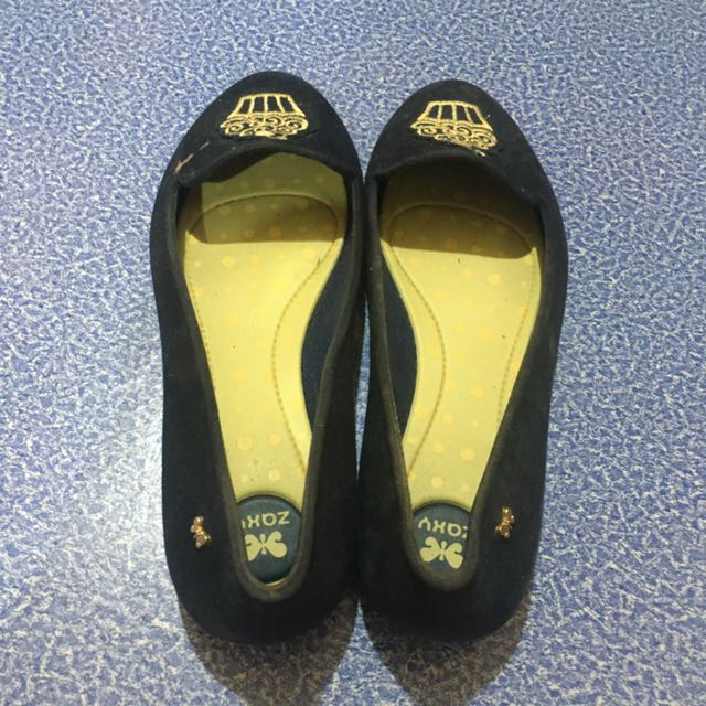ZAXY Navy blue Slip On