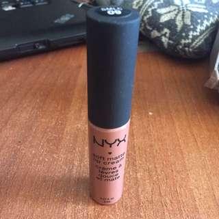 Nyx Soft Matte Lip Cream- Abu Dhabi