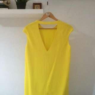 Yellow Mango Dress