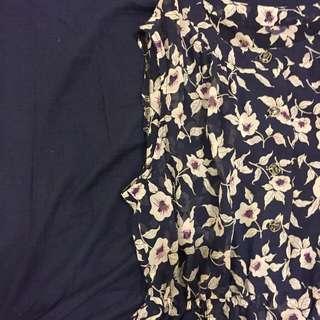 復古碎花小洋裝 星期一古著購入